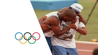Derek Redmond's Emotional Olympic Story - Injury Mid-Race | Barcelona 1992 Olympics