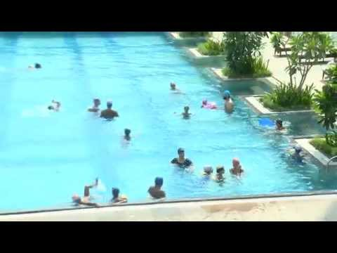 Swimming at Palava Sports Summer Camp