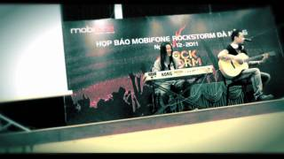 Black Infinity  _ Embracing Hearts ( Live Acoustic at Rockstorm Press Conference 2011 )