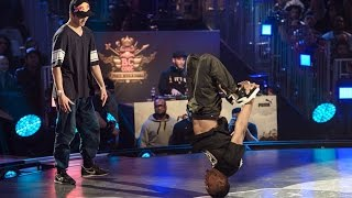 Wing vs Tonio - Battle 8 - Red Bull BC One World Final 2014 Paris