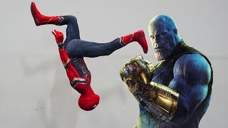 Spiderman Training to Beat Thanos (Infinity War In Real Life)