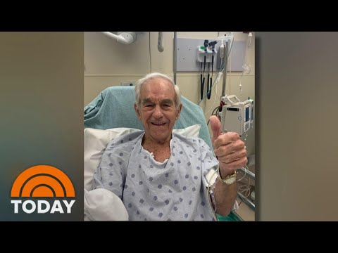 Ron Paul Recovering After Health Scare During A Live Interview | TODAY