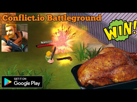 Conflict.io Battle Royale Battleground Android Gameplay