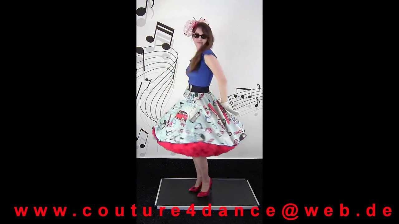 Tellerrock / Petticoatskirt Fifties Lifestyle