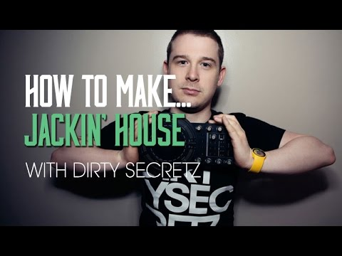 How To Make Jackin House in Ableton 9 Live with Dirty Secretz - Vocals