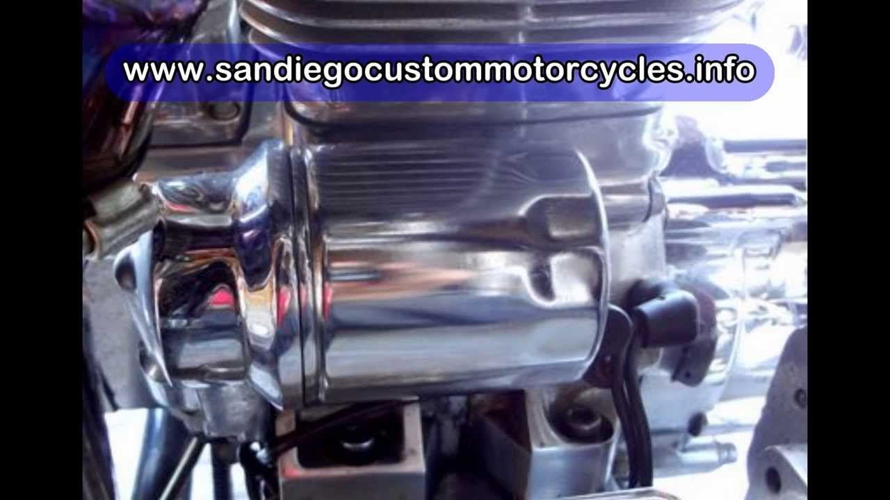Chopper Motorcycle Oil Change Youtube Big Dog Wiring Diagram Simple