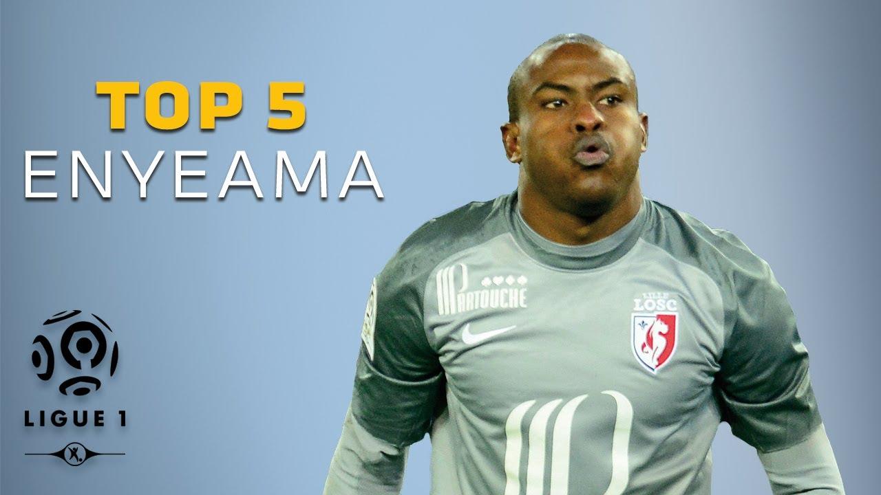 Vincent Enyeama Top 5 Arrªts Ligue 1 LOSC Lille