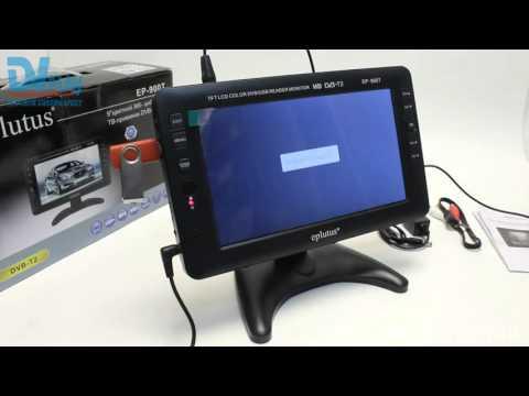 Eplutus EP-900T (DVB-T2) - обзор цифрового телевизора
