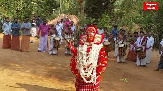 Theyyam nagakali amma