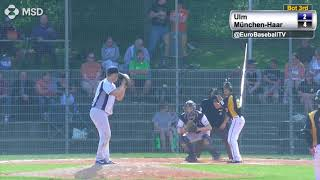 BASEBALL BUNDESLIGA HIGHLIGHTS:  Haar Disciples vs. Ulm Falcons