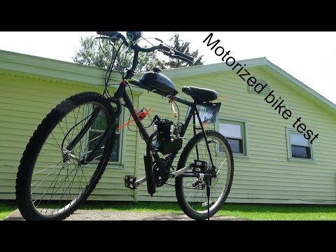MY NEW 80CC MOTORIZED BIKE!