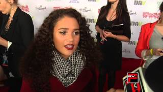 Madison Pettis talks about the Hollywood Christmas Parade and her room decor