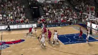 NBA 2k9 PC Gameplay Bulls v Hawks 2015