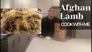Cook with Me: Afghan LAMB Step by Step EASY Recipe (InstantPot)