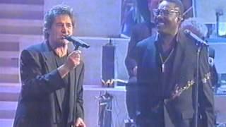 Wilson Pickett e Fausto Leali in Deborah di Paolo Conte. Live con Orchestra