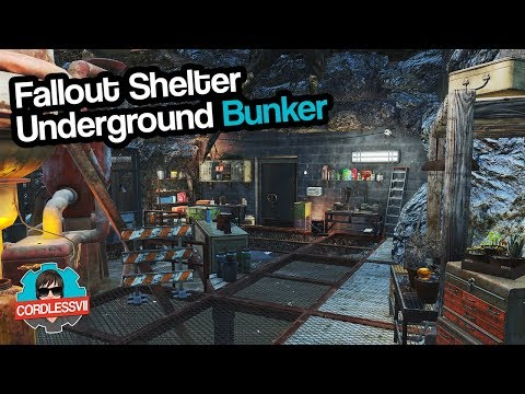 Fallout 4 | Underground Bunker (Fallout Shelter)