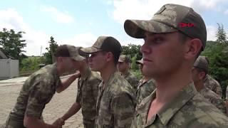Bulgaristan sınırındaki Hudut Kartalları bayramda görev başında