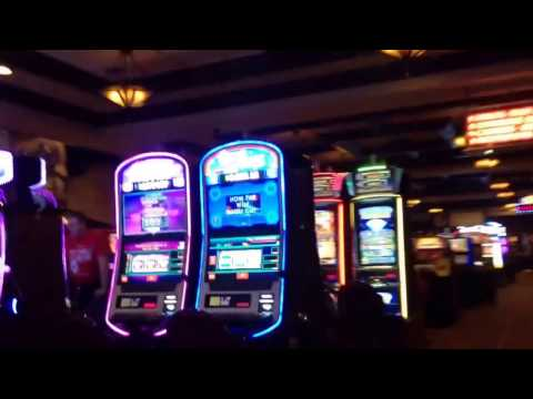 Mostly Walking Around Inside The Texas Station Casino In The Early Morning; Las Vegas
