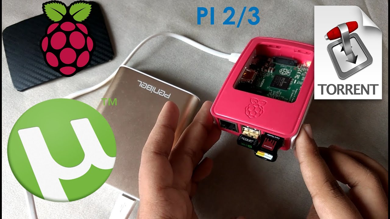 How to Use Raspberry pi 2/3 as a Torrent Box - YouTube