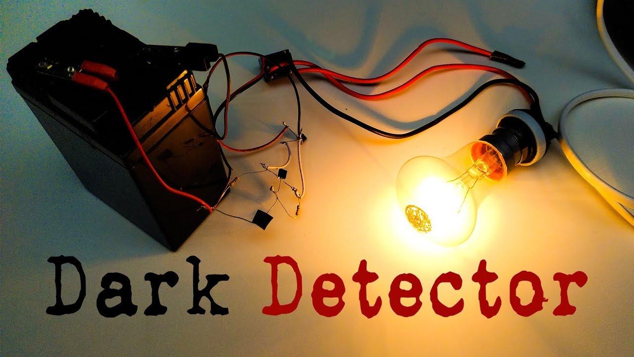Make Automatic Night Light | DIY Dark Detector Sensor | Electronics ...