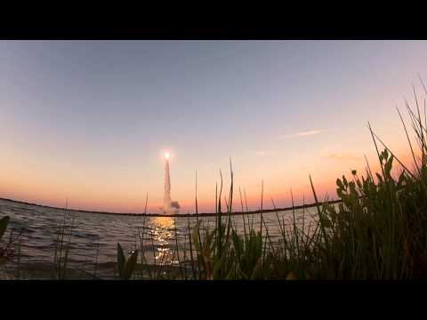 Waterside view of Delta 4 GPS 2F-6 Launch