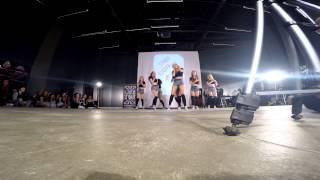 ANGRY CHICKS dancehall showcase LOVE STORY || Dancehall or Die 2015