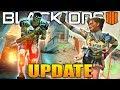 Black Ops 4: The Secret 1.21 Update Details