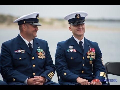 U.S. Coast Guard Morro Bay Change of Command Ceremony June 18, 2015