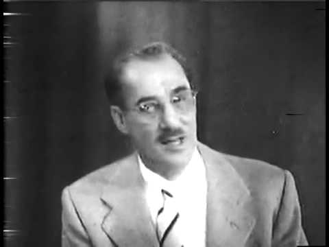 Groucho shares his views on Hungarians - Rare clip from You Bet Your Life (Dec 22, 1955)