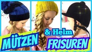 💗  3 einfache Mützen & Helm Frisuren 💗 coole Mädchen Zöpfe & Frisuren thumbnail