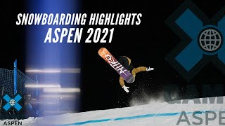 BEST OF SNOWBOARDING | X Games Aspen 2021