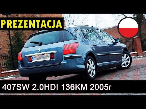 Prezentacja Peugeot 407 SW 2.0HDi 136KM