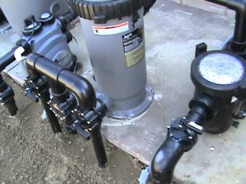 Jandy Pool Equipment Set
