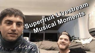 Superfruit Livestream [10-20-18] - Musical Moments