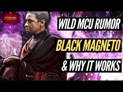 WILD MCU RUMOR! Magneto & Professor X Race Change Explained!