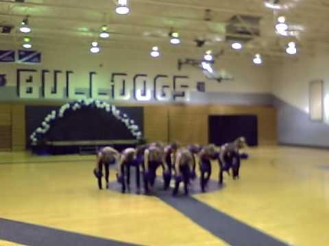 South Harrison High School Dance Team--Shake It