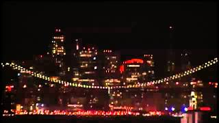 Moon Time-lapse over San Francisco