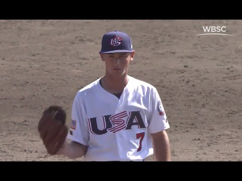 Highlights: USA vs Chinese Taipei – WBSC U-15 Baseball World Cup 2016 - Game 4