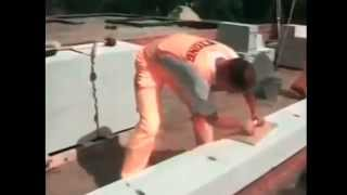 видео Баня из пеноблоков своими руками