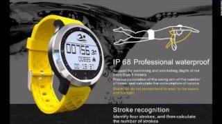 makibes f69 sprots smart watch ip68 fitness tracker bracelet