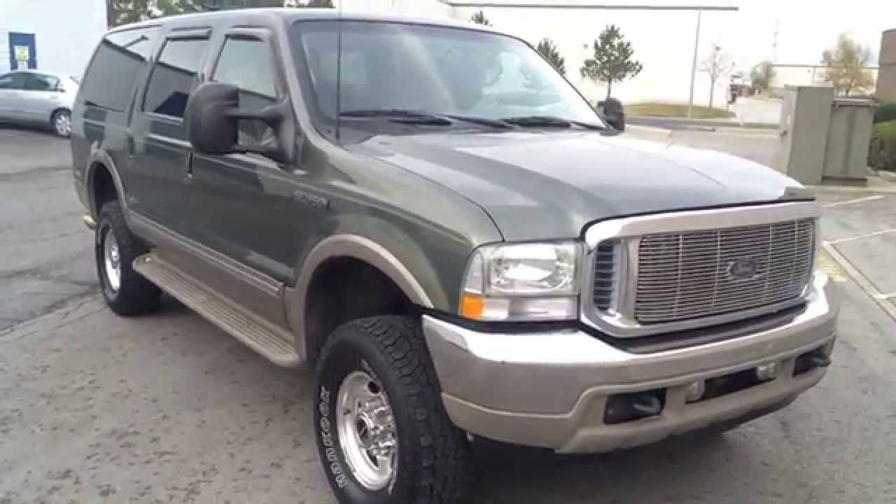 WWWDIESELDEALSCOM FORD EXCURSION LIMITED X - 2002 excursion