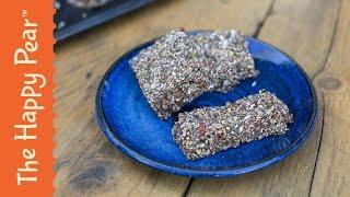 Homemade Protein Bars! No Bake Protein Bar Recipe