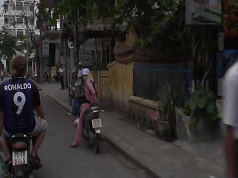 Crazy Moto Taxi ride In Vietnam
