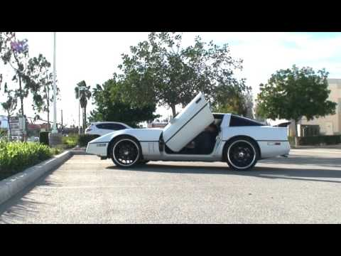Chevrolet Corvette C4 84-96 Bolton lambo doors by Vertical Doors Inc