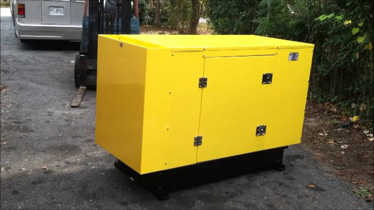 Mitsubishi Diesel Generator 22 kw Acoustic Startup