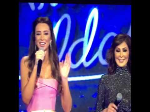 Wael Kfoury and Elissa from Arab Idol season 3