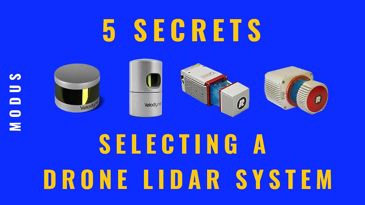 Five Secrets to Selecting a Drone LiDAR System