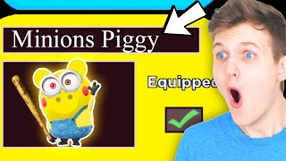 Can We Unlock The NEW MINION PIGGY SKIN!? (HUGE REVEAL!!!)