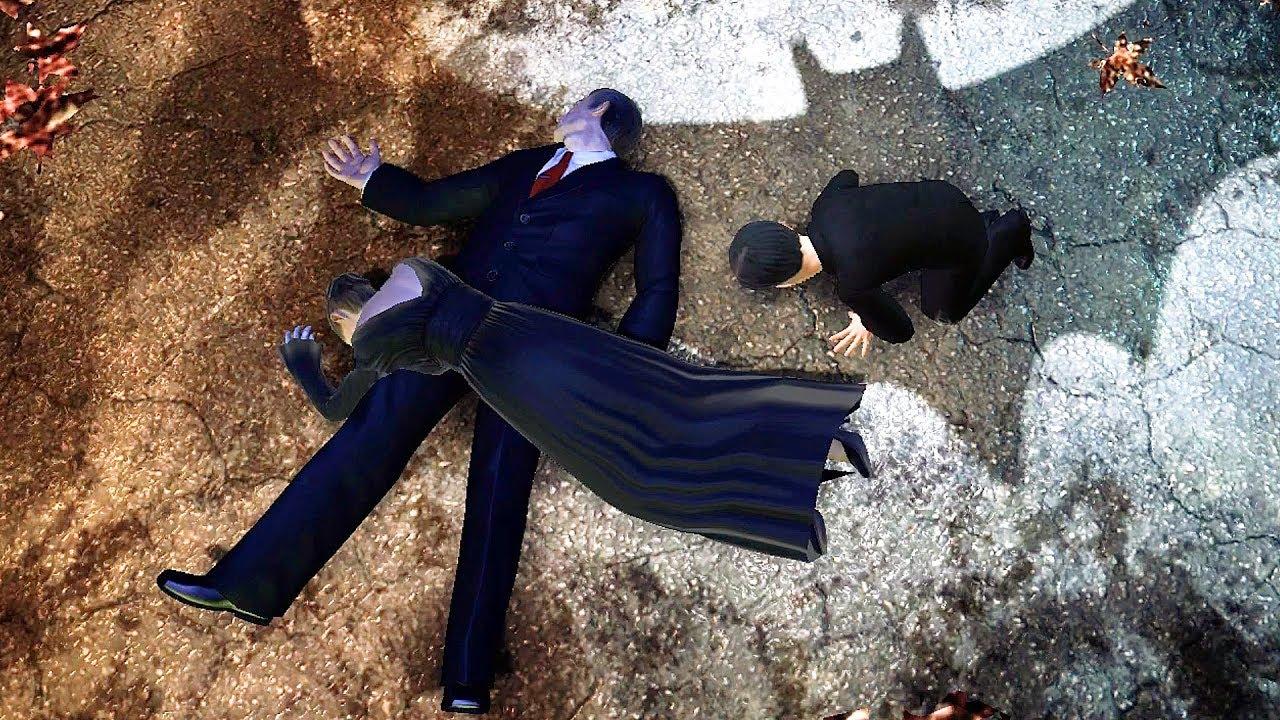 Thomas Wayne scène de mort et Bruce Wayne hallucine sur la scène Joker - Batman Arkham Series + vidéo