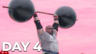 DAY 4 | WORLD'S STRONGEST MAN FINAL | EDDIE HALL